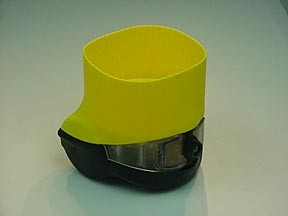 Plastic injection part for Scuba transport holder mold