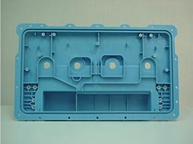 Plastic injection part for Rail Electronic Box