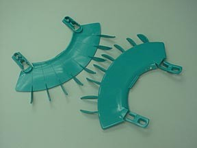 Plastic injection mold for special parts